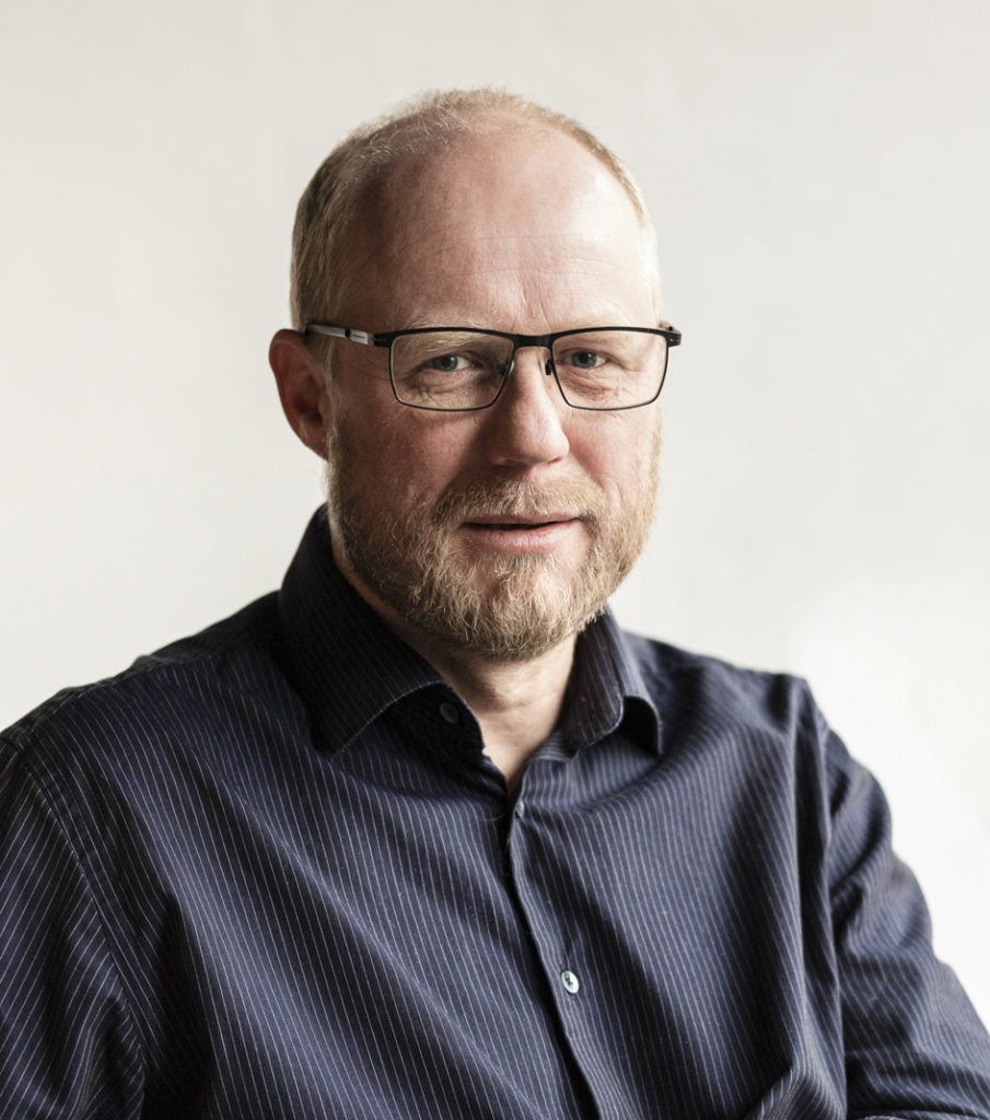 Jan Thore Nalum, leder for avdelingen produksjon og design. FJUZ